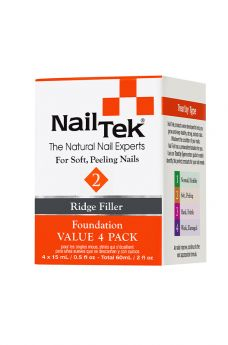 Nail Tek Foundation 2 Pro Pack - 4/0.5 oz