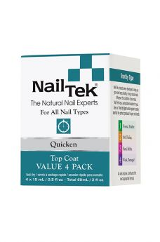 Nail Tek Quicken Pro Pack - 4/0.5 oz