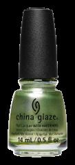 China Glaze Nail Lacquer, Famous Fir Sure, 0.5 fl oz