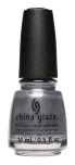 China Glaze Nail Lacquer, Snow Biz, 0.5 fl oz