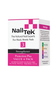 Nail Tek Protection Plus 3 Pro Pack - 4/0.5 oz