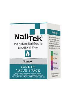 Nail Tek Renew Pro Pack - 4/0.5 oz
