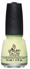 China Glaze Nail Lacquer, Ghoulish Glow, 0.5 fl oz
